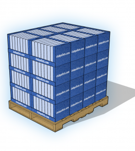 Stacked Tray Pallet